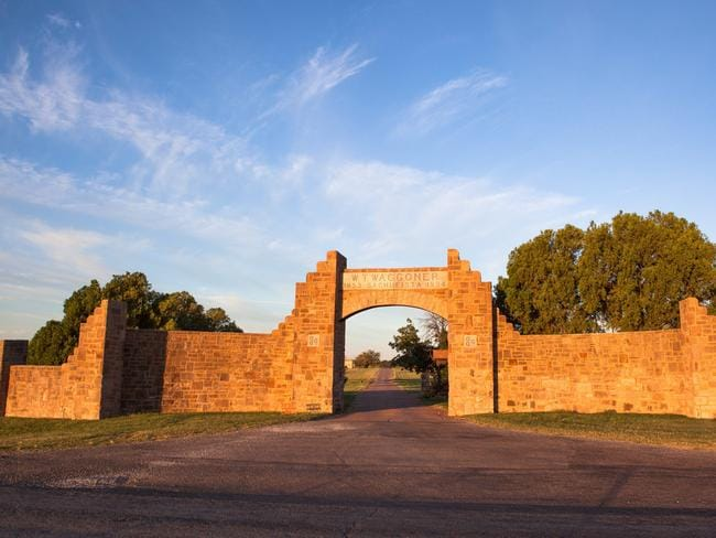 The WT Waggoner Estate is the largest single ranch in the United States.