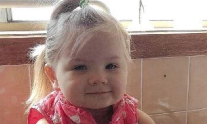 Police appeal for missing three-year-old girl