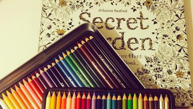 Johanna Basford's Secret Garden adult colouring book is sold out around the country.