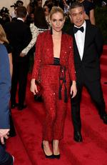 """Sienna Miller attends the Met Gala 2015 """"China: Through The Looking Glass"""". Picture: Getty"""