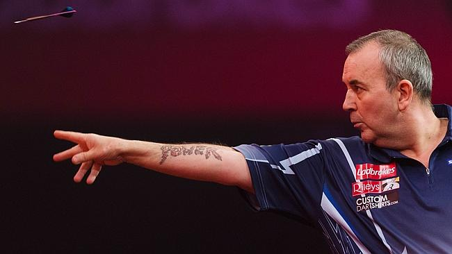 Phil Taylor puts his legendary concentration to the test.