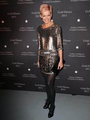 Jessica Rowe at a fundraiser for the Sydney Children's Hospital.