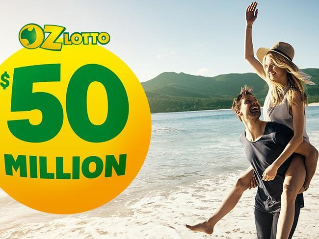 Oz Lotto has reached a $50m jackpot. Picture: Supplied