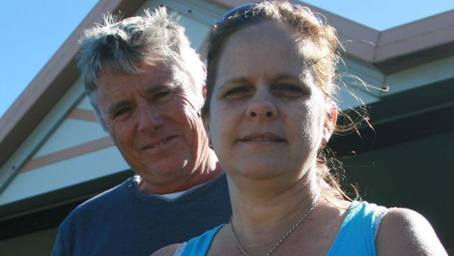 TCP NEWS: Alister and Kerri Pike outside their Mission beach home.