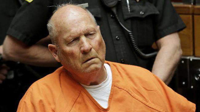 Golden State Killer suspect Joseph DeAngelo was tracked down using online dna data. Picture: AP Photo/Rich Pedroncelli
