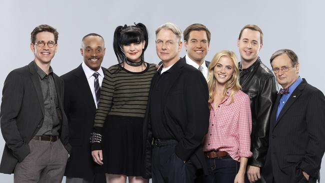 Dream team ... Michael Weatherly will no longer form part of this familiar NCIS crew. Picture: Supplied