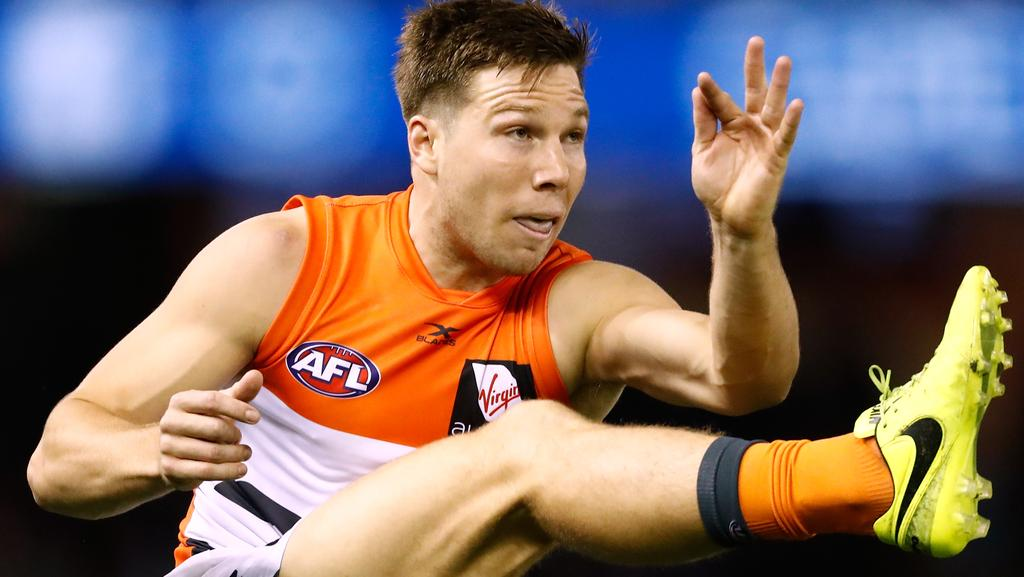 Toby Greene's teammates don't want him to change. Picture: Getty Images
