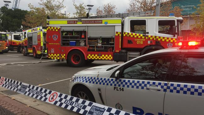 NSW Fires And Rescue Crews Were Called To Showground Road Near Grand Parade About 230pm