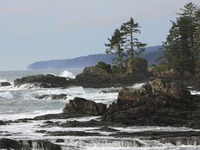 The British Columbia coastline is popular with hikers. Picture: istock