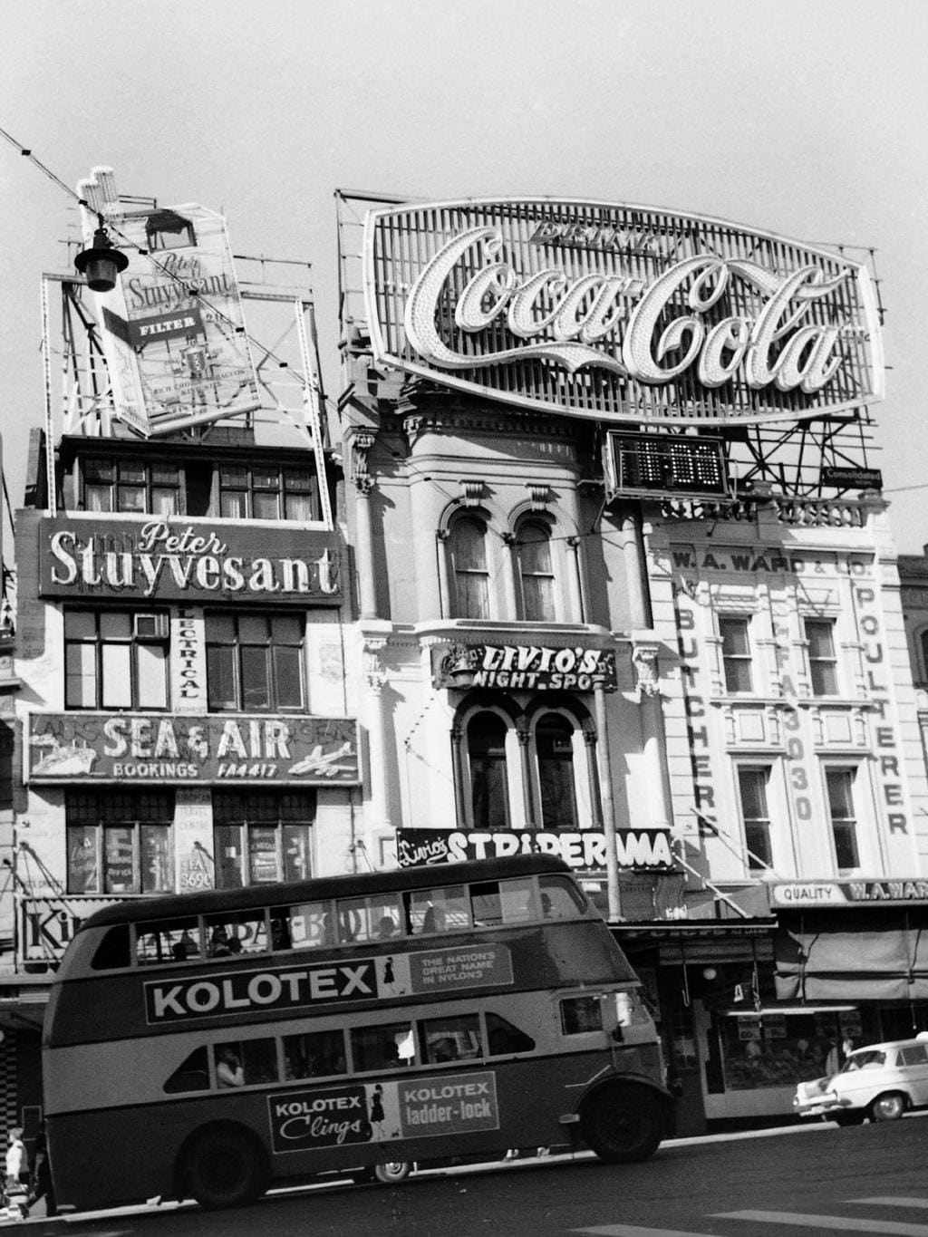 Sydney S Coke Sign A Colourful History Dailytelegraph