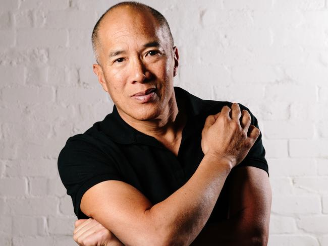 Brain surgeon Charlie Teo who has left the Cure Brain Cancer Foundation to set up his own charity during a photo shoot in Rosebery. Picture: Jonathan Ng