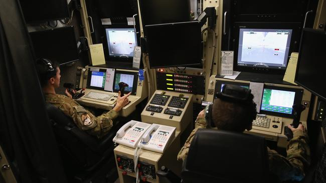 Predator drones are unmanned aircraft, so their pilots sit in a ground control station and operate them remotely. Picture: John Moore/Getty Images
