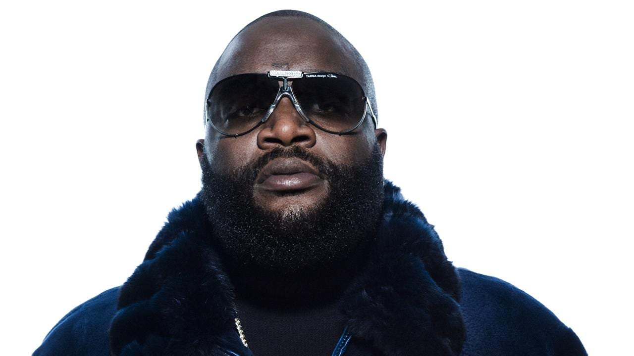 Rapper rick ross at white house