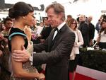 Thandie Newton and William H. Macy attend The 23rd Annual Screen Actors Guild Awards at The Shrine Auditorium on January 29, 2017 in Los Angeles, California. Picture: Getty