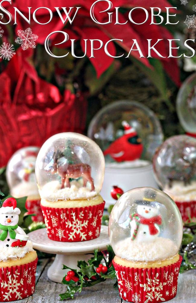 Snow Globe Cupcakes Food Network