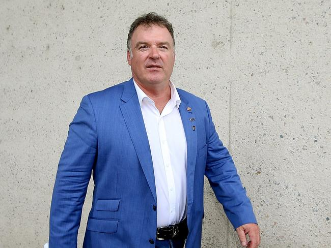 Former One Nation senator Rod Culleton was ineligible to be elected in the first place, the High Court has ruled. Picture: Kym Smith