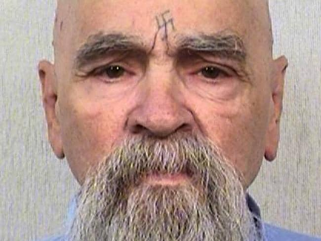 Charles Manson was the cult leader and mastermind behind the 1969 deaths of actress Sharon Tate and several others. Picture: AP