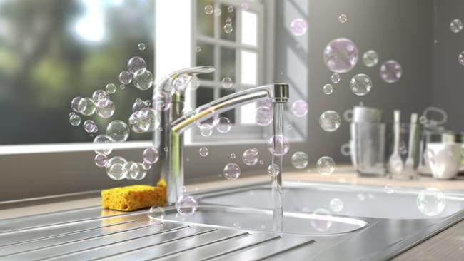 Kitchen sinks can also hide hidden germs.