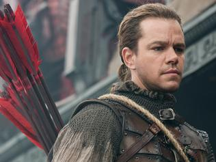 Matt Damon in a scene from film The Great Wall