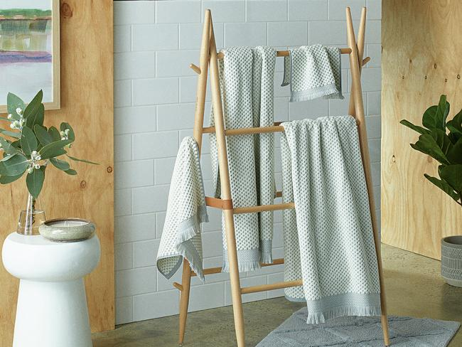 A 4-piece towel set is $29.99. Picture: Supplied
