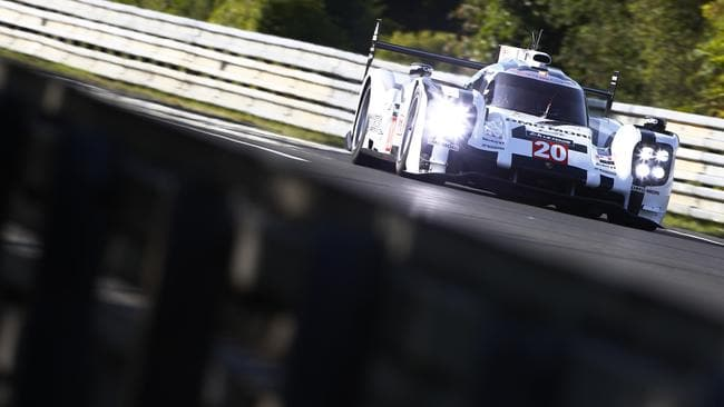 Only a mechanical failure stopped Webber from winning Le Mans this year.