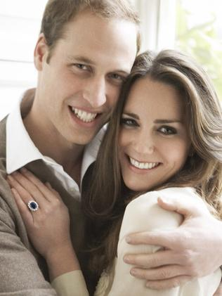 Kate Middleton helped launch the trend of engagement rings that have interesting texture and detailing. Pic: Mario Testino.
