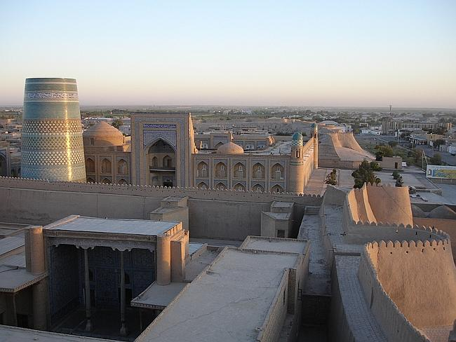 Beautiful architecture of Uzbekistan. Picture: DanielDuce