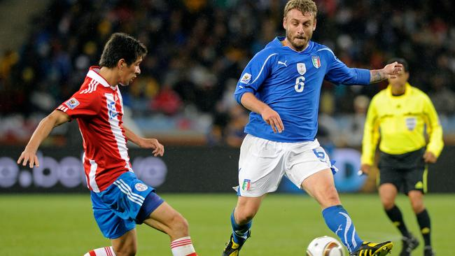 Daniele De Rossi taunted Paraguay with a dive and a goal in South Africa.