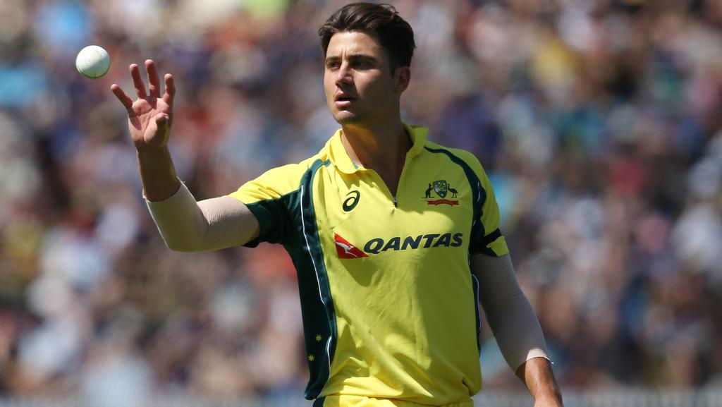 Marcus Stoinis has been called up to the Australia squad to replace the injured Mitchell Marsh.