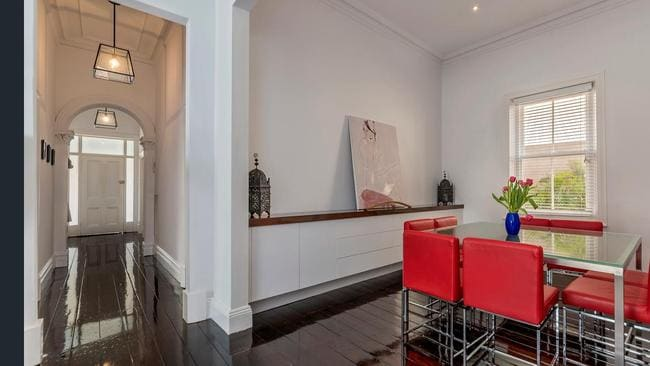"""ON THE MARKET: Like many circa 1900 Adelaide homes,  <a href=""""https://www.realestate.com.au/property-house-sa-parkside-126586690"""" title=""""www.realestate.com.au"""">24 Porter St, Parkside </a>has been renovated but has retained many of its character features, including high ceilings."""