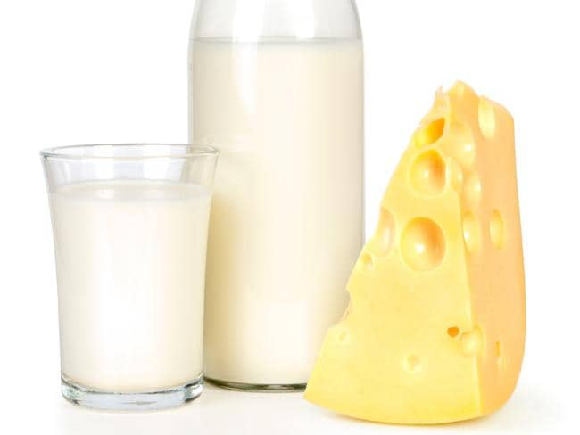 Prof Plant says dairy products should be totally eliminated from any diet.