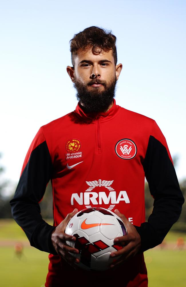Vitor Saba at Wanderers training.