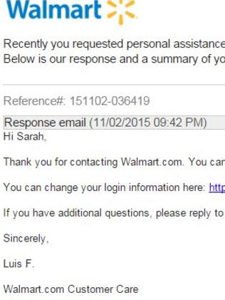 walmart customer service issues essay example For walmart, no easy fixes for some big problems  adler said the chain has underinvested in its stores for years and has paid little attention to customer service indeed, walmart has ranked .