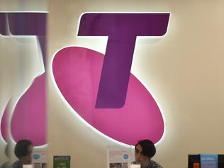 Signage at a Telstra store in Sydney on Tuesday, March 22, 2016. Telstra customers have taken to social media again to vent their frustration about another service outage, the fourth in two months. (AAP Image/Mick Tsikas) NO ARCHIVING
