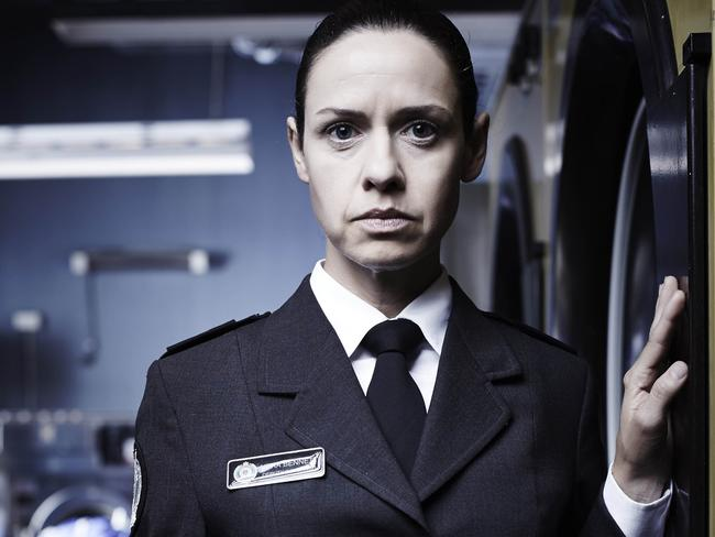 Kate Atkinson plays Vera Bennett, the deputy Corrections officer in prison drama Wentworth.
