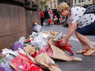 Tributes Flow For Victims Of Fatal Bourke Street Mall Incident