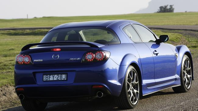 Mazda's last rotary powered car was the RX-8 which ended production in 2012.