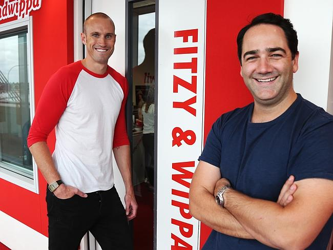 Fitzy and Wippa have laughed off reports they have an $11 million contract.