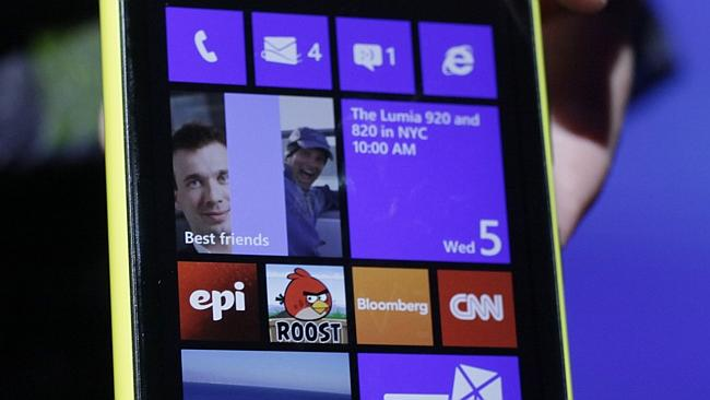 Microsoft's foothold in the mobile market has been a slippery one with Windows 8 devices not taking off like the company expected. Source: AP Photo