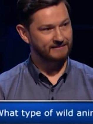 The moment of realisation for the contestant. Picture: ITV