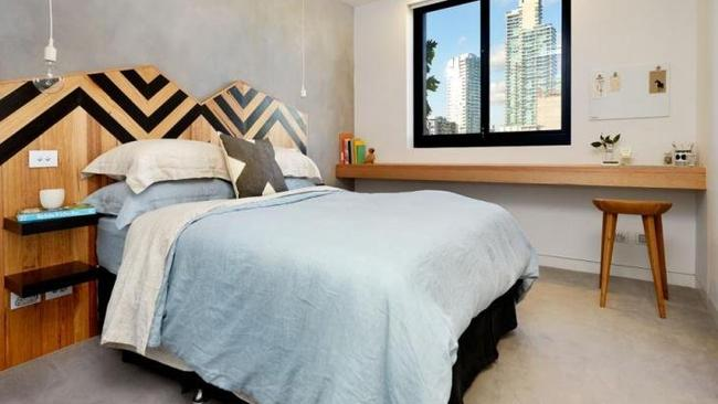 The Block apartment renovated by Trixie and Johnno is for rent. Picture: realestate.com.au