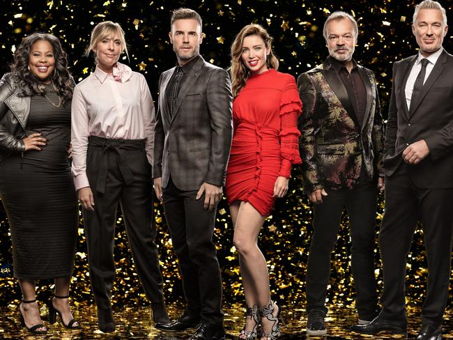 Dannii Minogue joined Gary Barlow on UK TV show Let It Shine this year. Pic: BBC