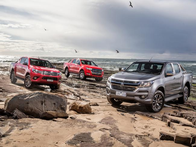 PDespite the risk we are buying more diesel-powered SUVs and utes than ever. Picture: Thomas Wielecki