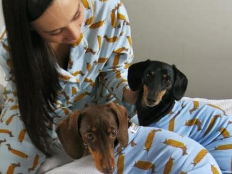 Matching pjs for you and your dog is now a thing