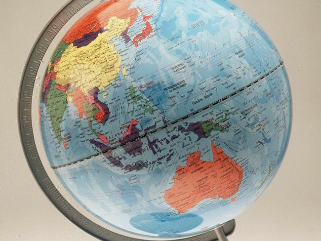 Undated. Generic pic of a globe of the world. Earth.
