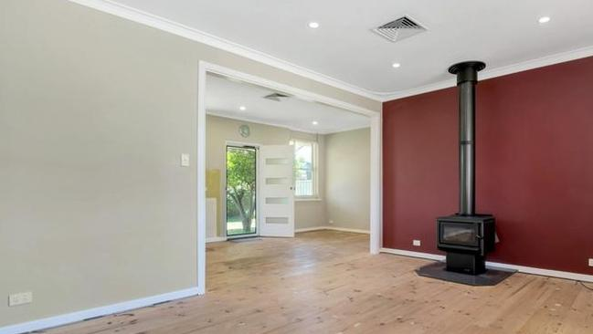 6 Arundel St, Vale Park has been partially renovated, with new paintwork, downlights and a new bathroom.