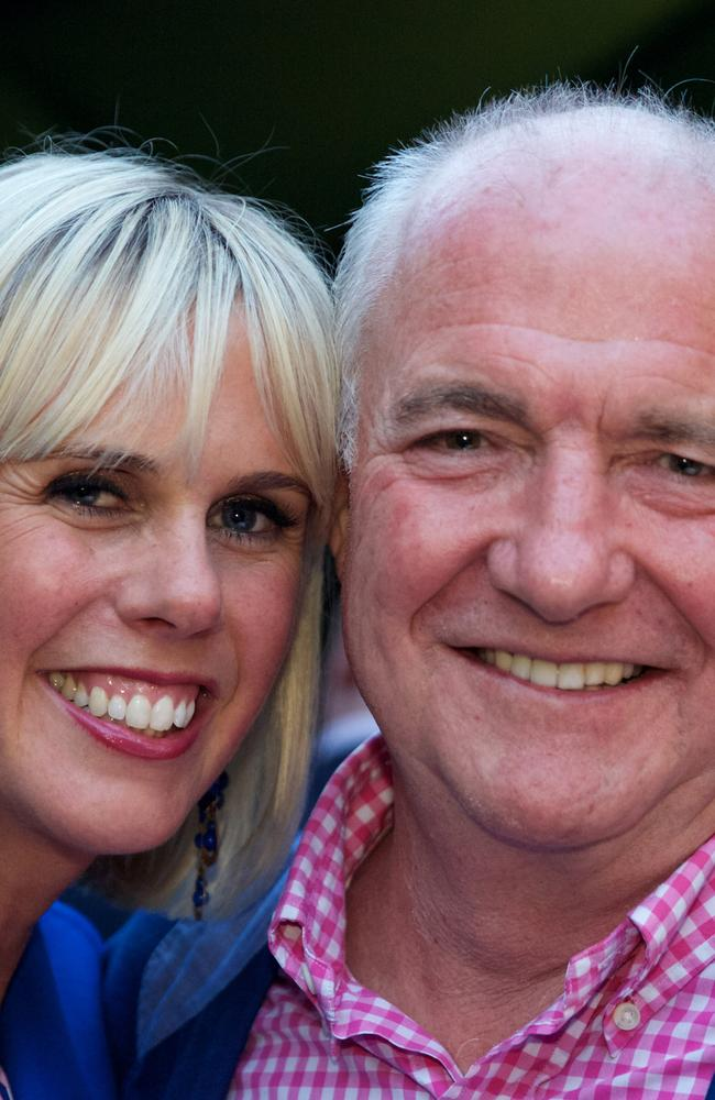 Canaped crusaders: Rick Stein and his Aussie born wife, Sarah