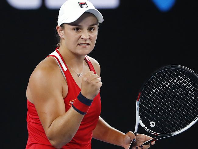 Ash Barty was snubbed in favour of Roger Federer.