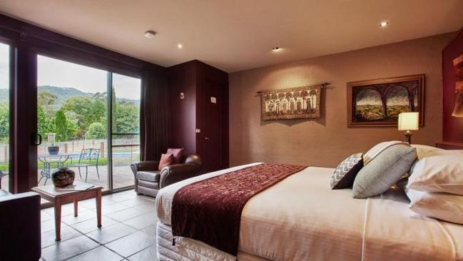 The property has seven luxury accommodation suites across two granite buildings.