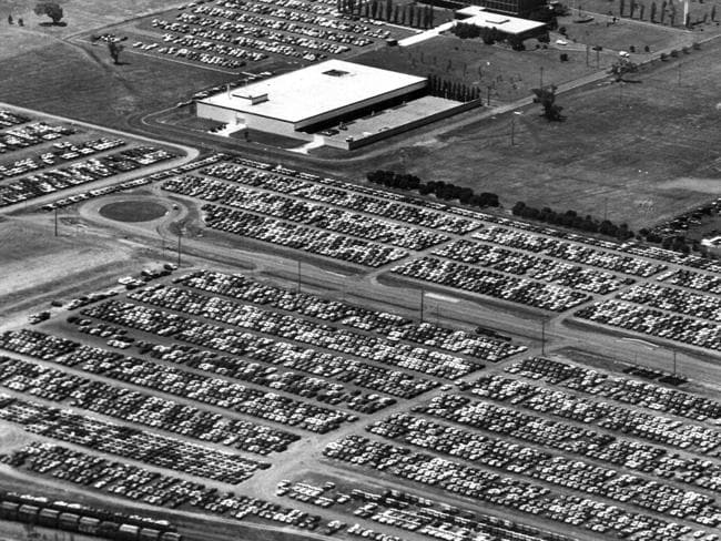 The golden age ... The Broadmeadows' Ford manufacturing plant in 1974